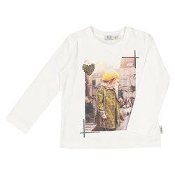 Camisa Melby de manga larga para niña