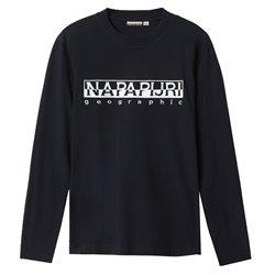 T-shirt Napapijri Serber LS