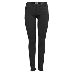ONLFCARMEN REG SK BLK4EVER SOO1796 NOOS Black Denim