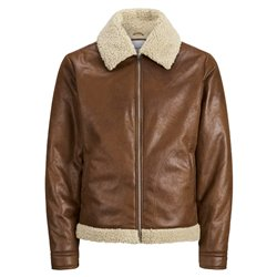 Jack & Jones faux leather jacket for men