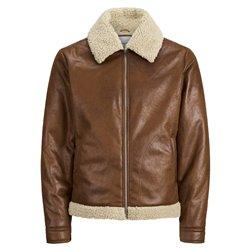Jack & Jones veste en cuir synthétique pour hommes