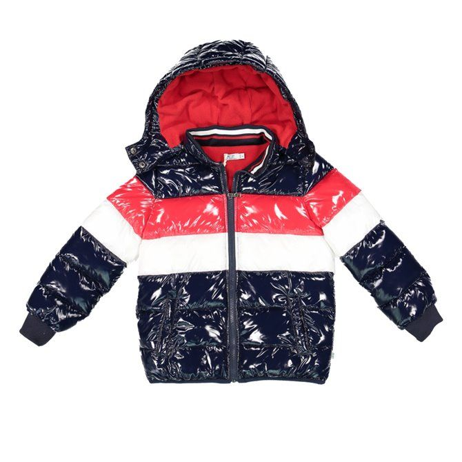 Melby bomber jacket in Nylor with hood and zip Kids