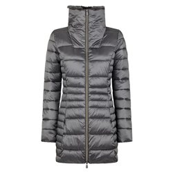 Save The Duck down jacket with woman zip