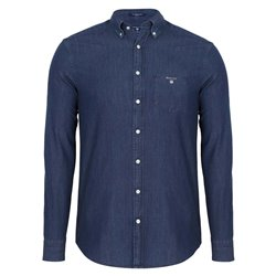 Men's Indigo Gant shirt