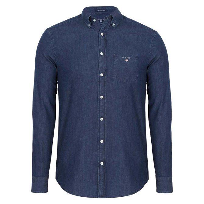 Camicia da uomo Indigo Gant GANT Camicie