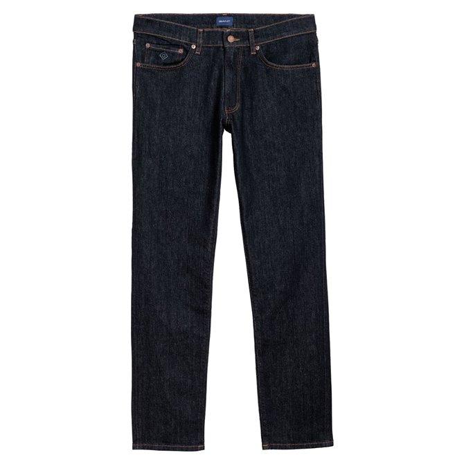Jeans Gant Slim straight blu jeans