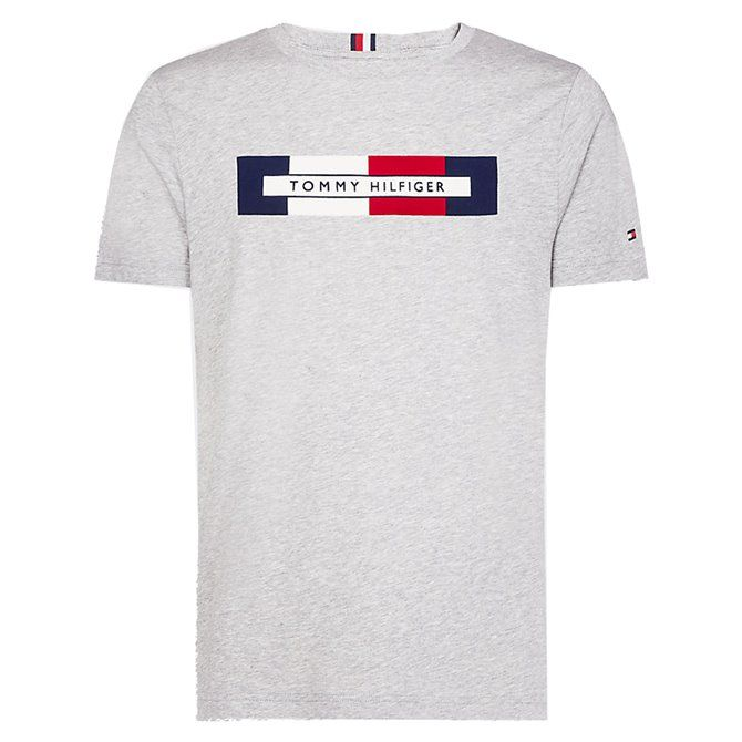 T-shirt Tommy Hilfiger Logo sky captain
