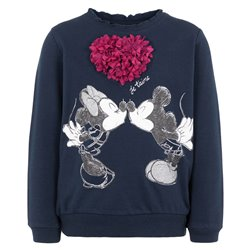 Nameit long-sleeved sweatshirt withn disney Minnie Mouse print