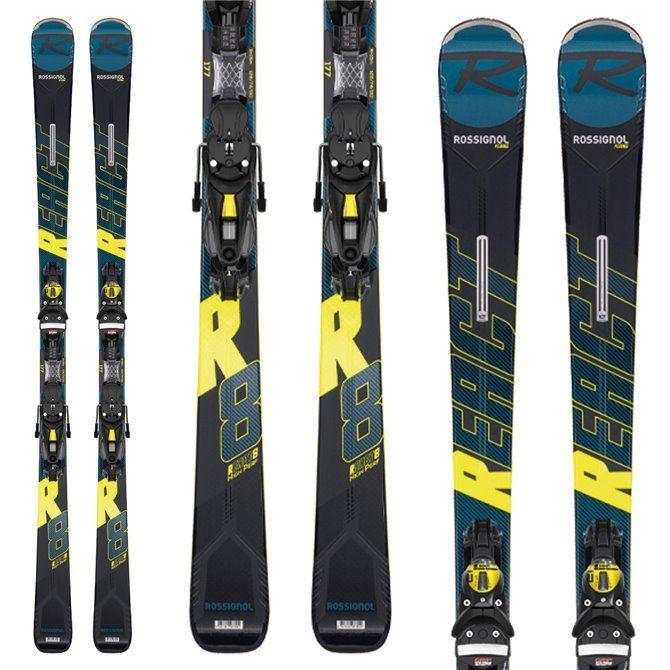Ski Rossignol React R8 HP + fijaciones Nx 12 Konect Gw B80
