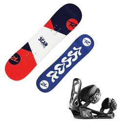 Snowboard Rossignol Scan + bindings Rookie