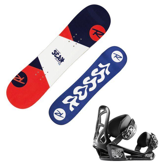 Snowboard Rossignol Scan + attacchi Rookie