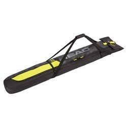 Sacca Portasci Head Single Skibag nero giallo