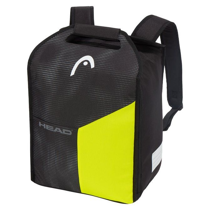 Zaino Porta Scarponi Head Boot Backpack nero giallo