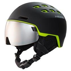 Casco sci Head Radar black-lime