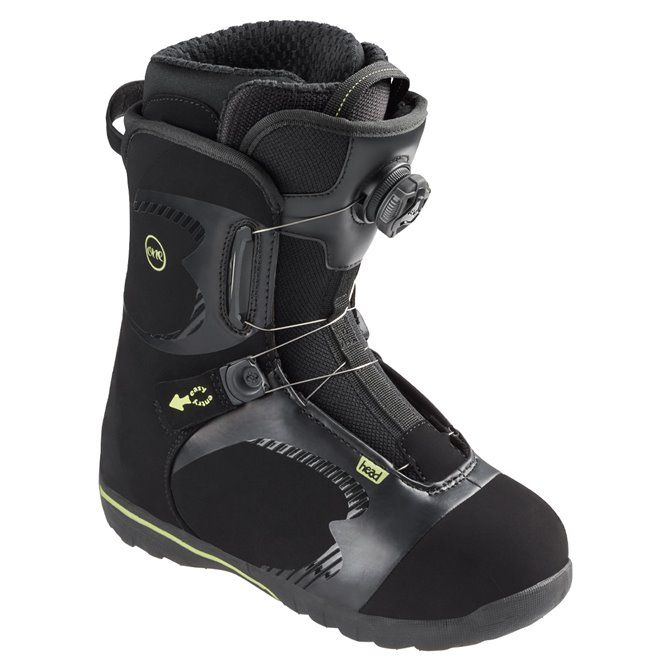 Scarpe snowboard Head One Boa nero