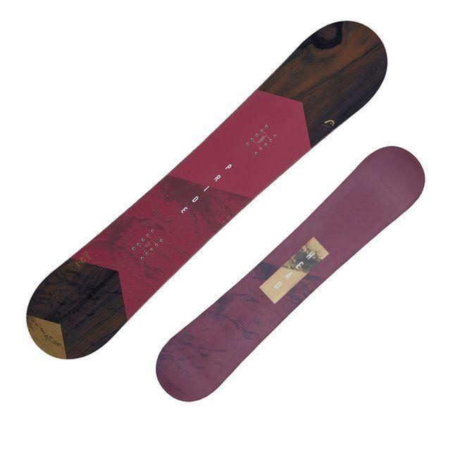 Snowboard Head Pride viola-marrone