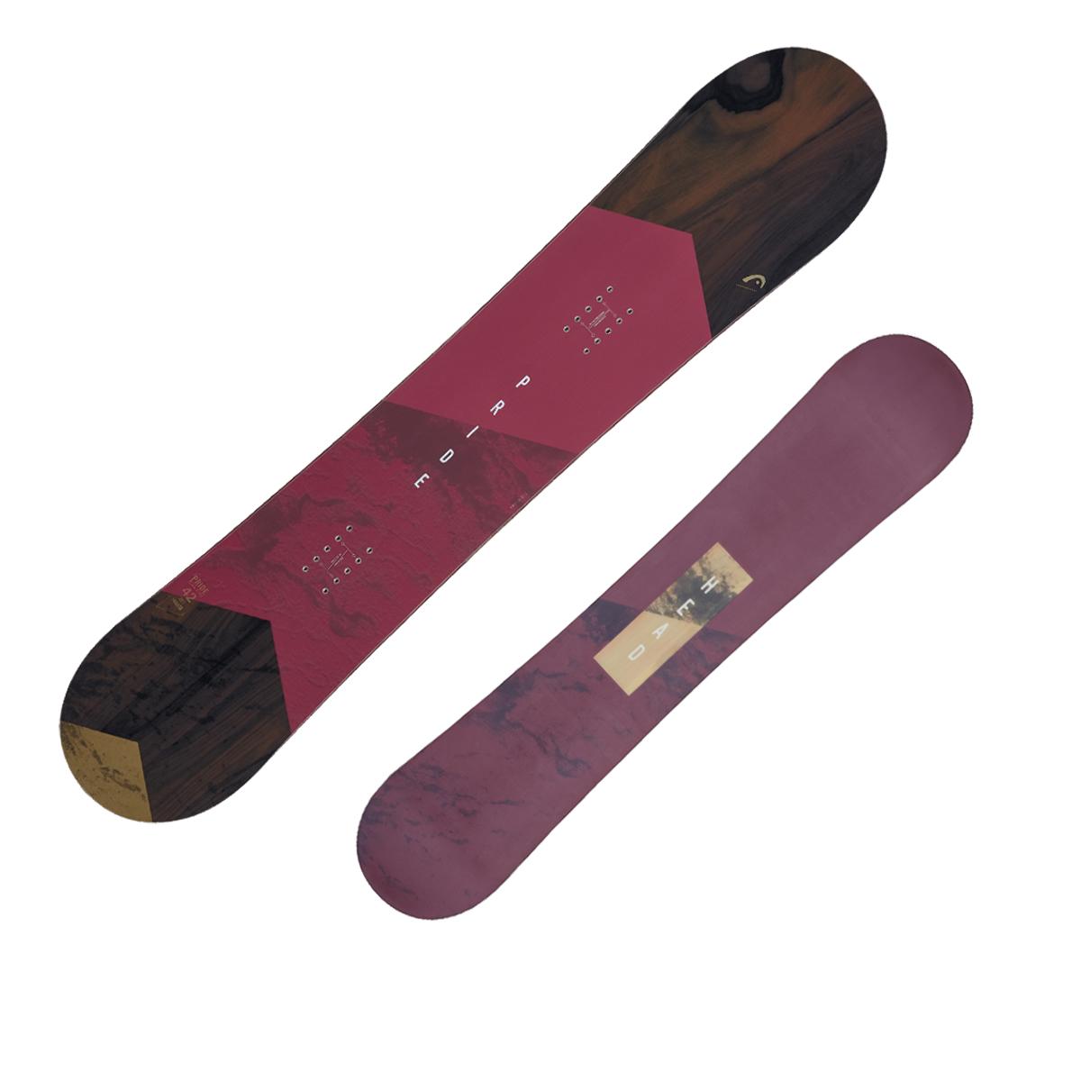 Snowboard Head Pride (Colore: viola-marrone, Taglia: 142)
