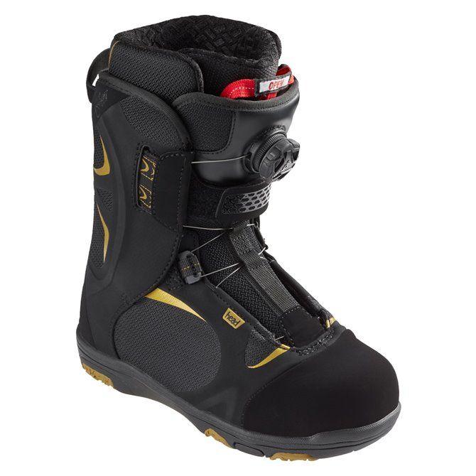 Scarpe snowboard Head Four Boa nero-giallo