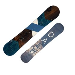 Snowboard Head True fantasia azzurro-marrone