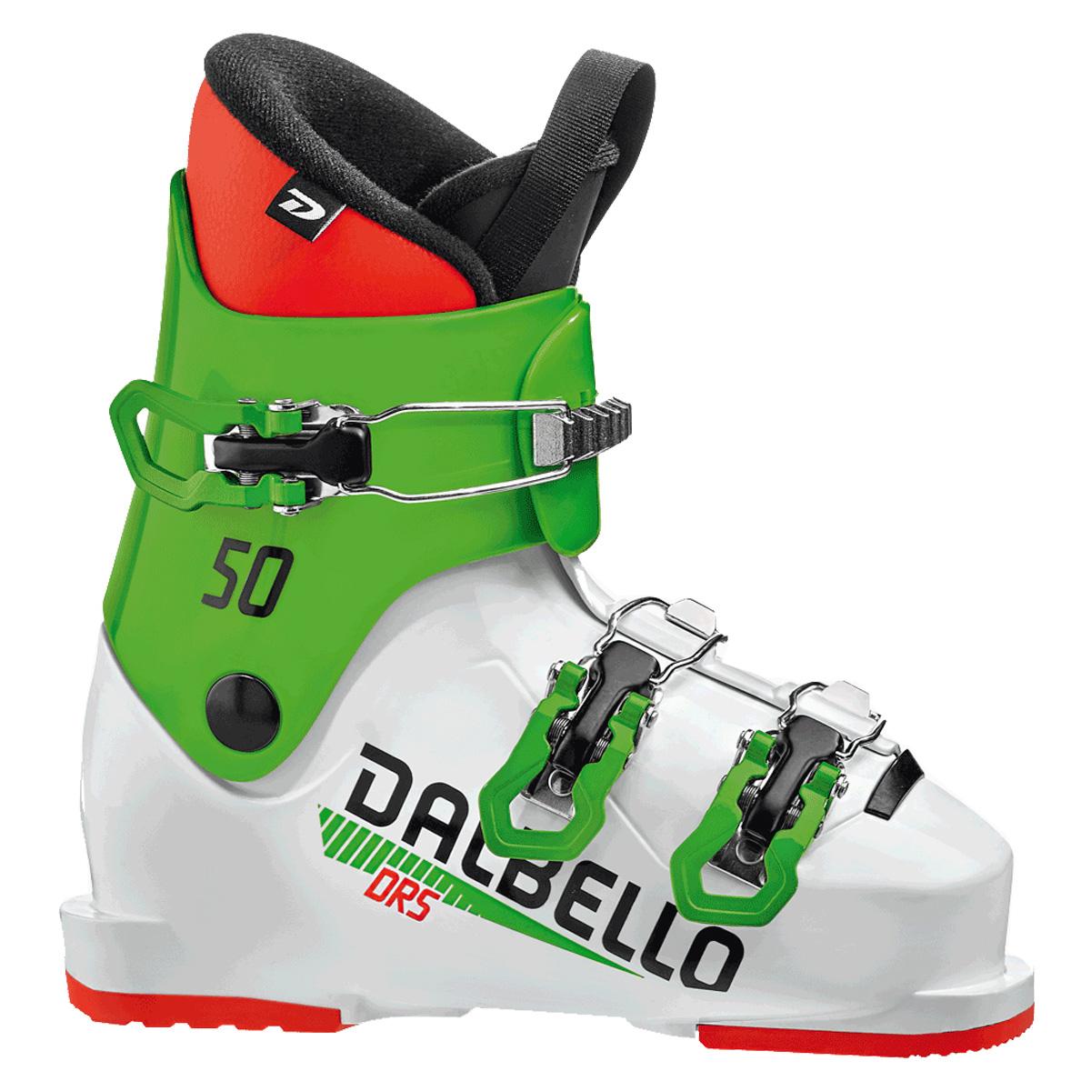 Scarponi sci Dalbello Drs 50 Jr (Colore: white-race green, Taglia: 18.5)
