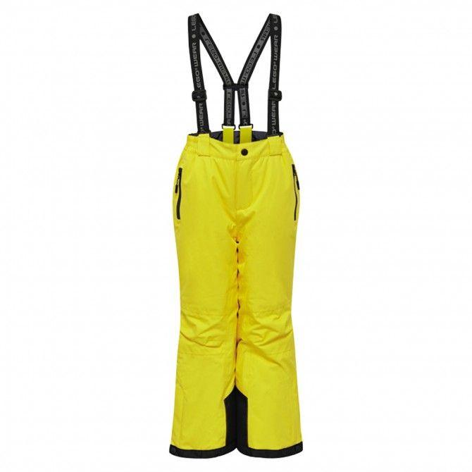 Pantalone sci Lego Lwplaton 725 yellow
