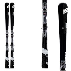 K2 ski Super Charger avec attache Mxcell 12 Tcx