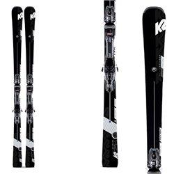 Sci K2 Super Charger con attacchi Mxcell 12 Tcx nero-bianco-antracite