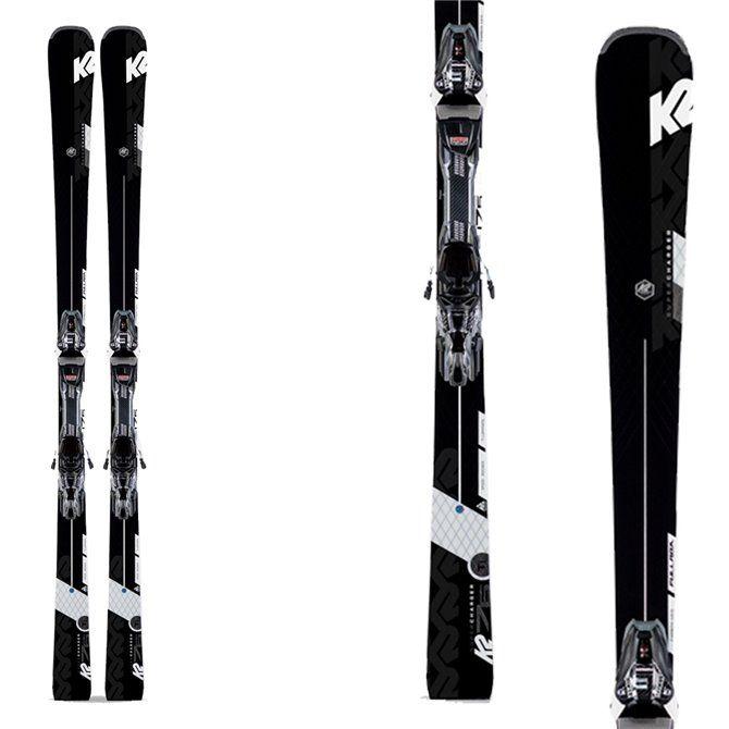 K2 ski Super Charger avec attache Mxcell 12 Tcx