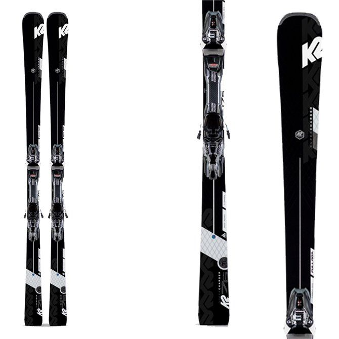 K2 ski Super Charger with bindings Mxcell 12 Tcx