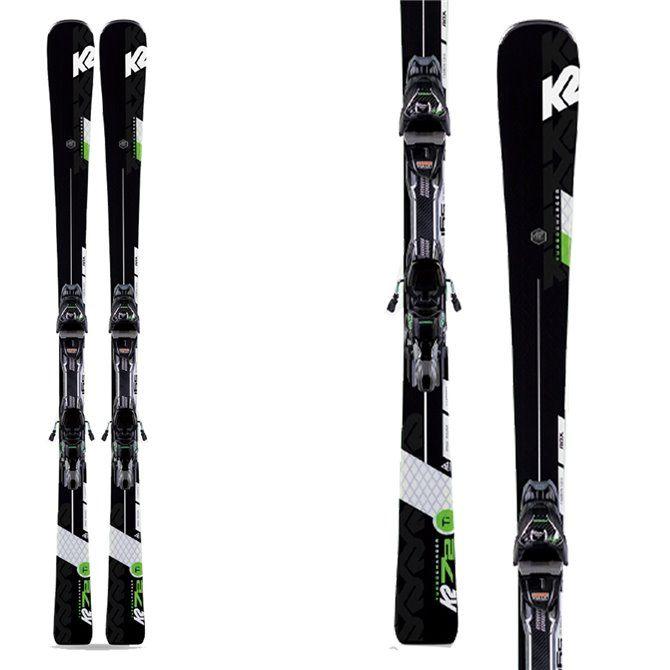K2 Ski Charger Turbo avec attache Mxcell 12 Tcx