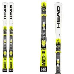 Sci Head WC Rebels iSL RD Team + attacchi Evo 9 GW Ac Brake 78 bianco-nero-giallo fluo