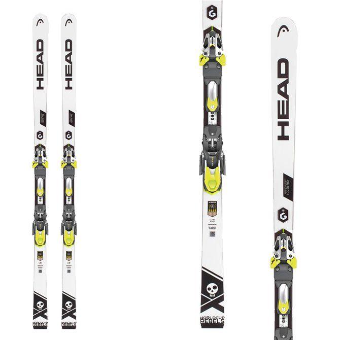 Ski Head WC Rebels iGS RD Pro with bindings Freeflex Evo 16 Brake 85