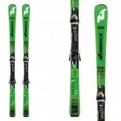 Nordica Ski Dobermann Spitfire Ti Fdt + attacks Tpx 12 Fdt