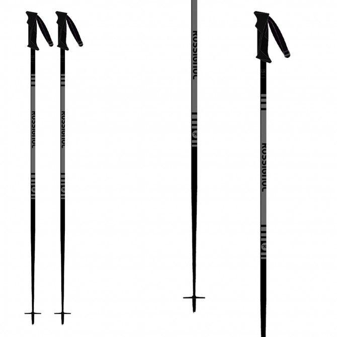 Bâtons de ski Rossignol Stove Grey