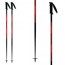 Bâtons de ski Rossignol Stove Red