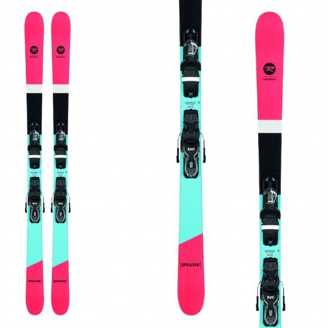 Ski Rossignol Junior Sprayer + fixations Xpress 10 B83