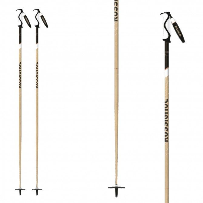 Ski poles Rossignol Electra bamboo