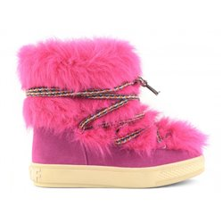 Colors Of California Fluo Faux fur boots