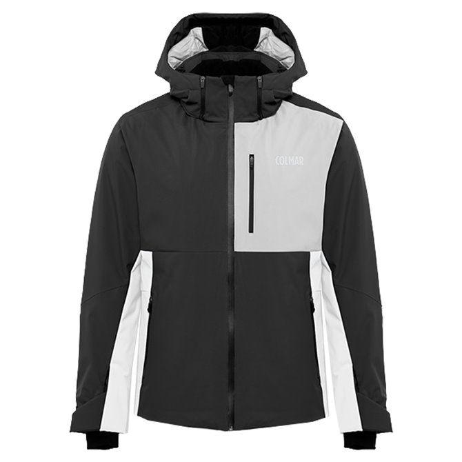 Giacca sci Colmar Sapporo nero-bianco-greystone