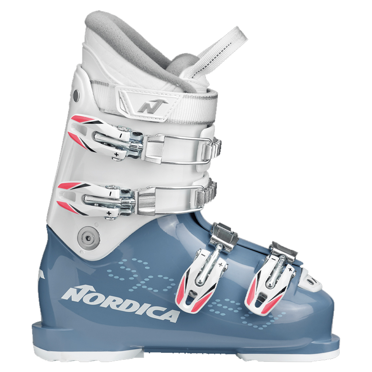 Scarponi sci Nordica Speedmachine J 4 girl (Colore: light blue-white, Taglia: 19.5)