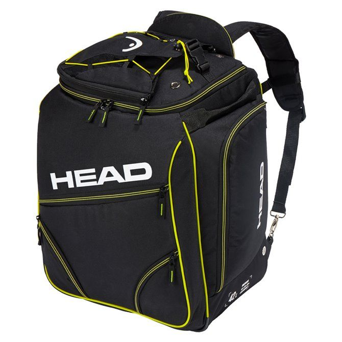 Zaino Porta Scarponi Head Heatable Bootbag nero giallo