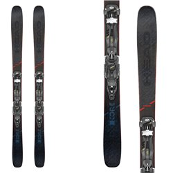 Ski Head Kore 99 avec fixations Attack2 13 et avec plaque Power Brake Race Pro 110