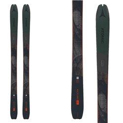 Sci Atomic Backland 95 con pelli Hybrid Skin 95 verde-nero