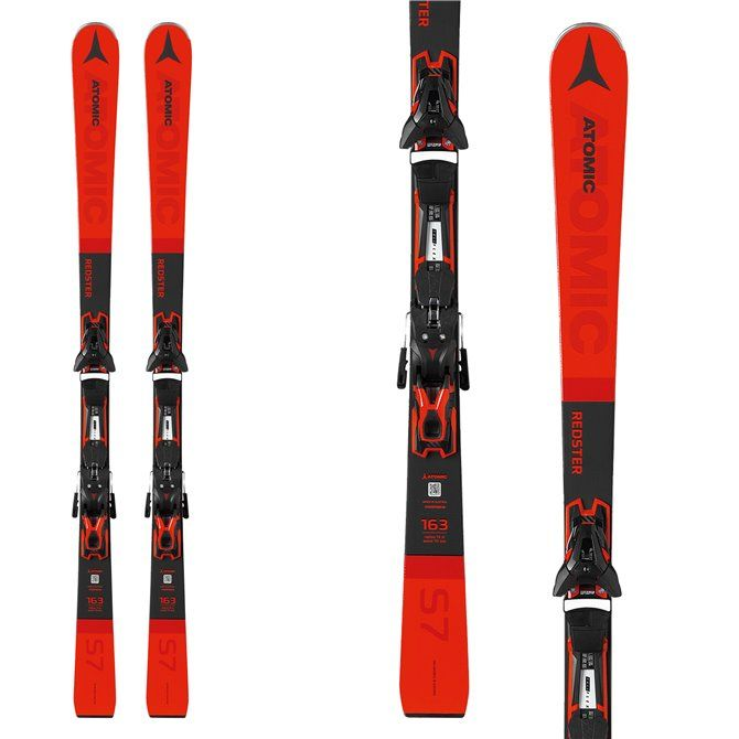Sci Atomic Redster S7 FT + attacchi FT 12 GW rosso-nero