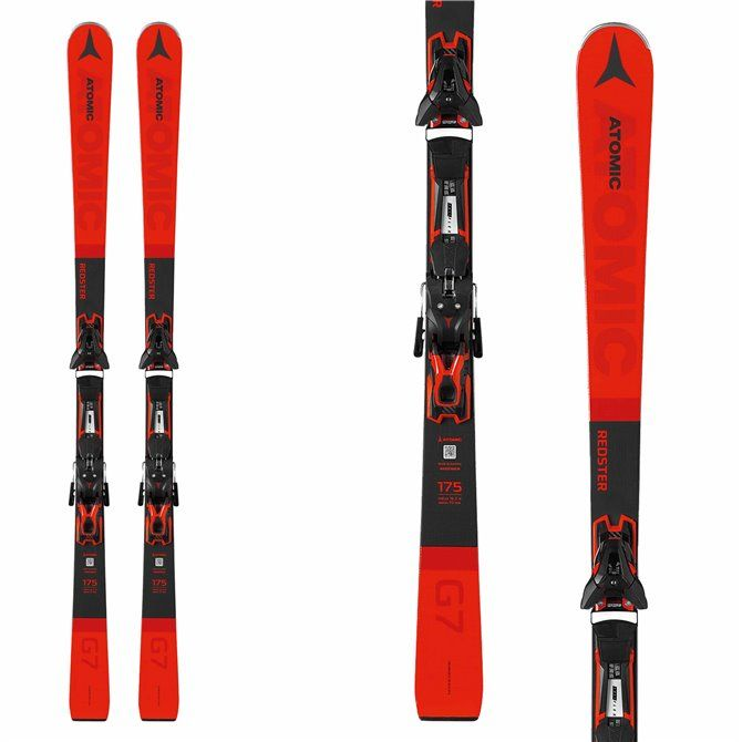 Sci Atomic Redster G7 FT + attacchi FT 12 GW rosso-nero
