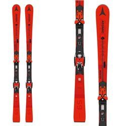 Atomic Redster S9 Q1 skis with X 14 TL RS bindings