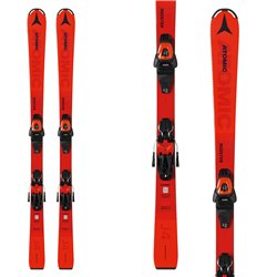 Atomic Redster J4 skis with L 6 GW bindings