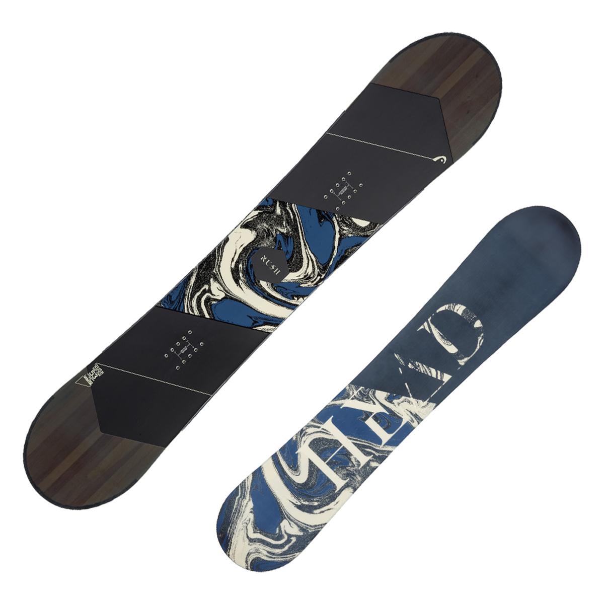Snowboard Head Rush (Colore: fantasia, Taglia: 155)