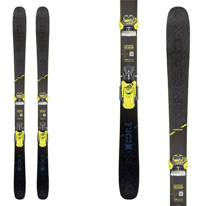 Ski Head Kore 93 avec fixations Attack2 13 GW