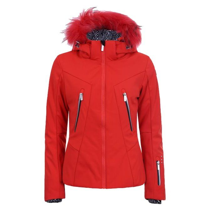 Giacca Sci Icepeak Eden CORAL-RED